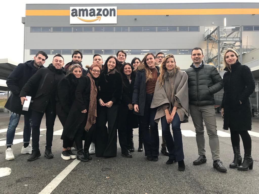 Il Gruppo giovani imprenditori di ANITA in visita al centro Amazon di Passo Correse