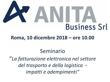 Roma, 10 dicembre 2018 - Seminario -