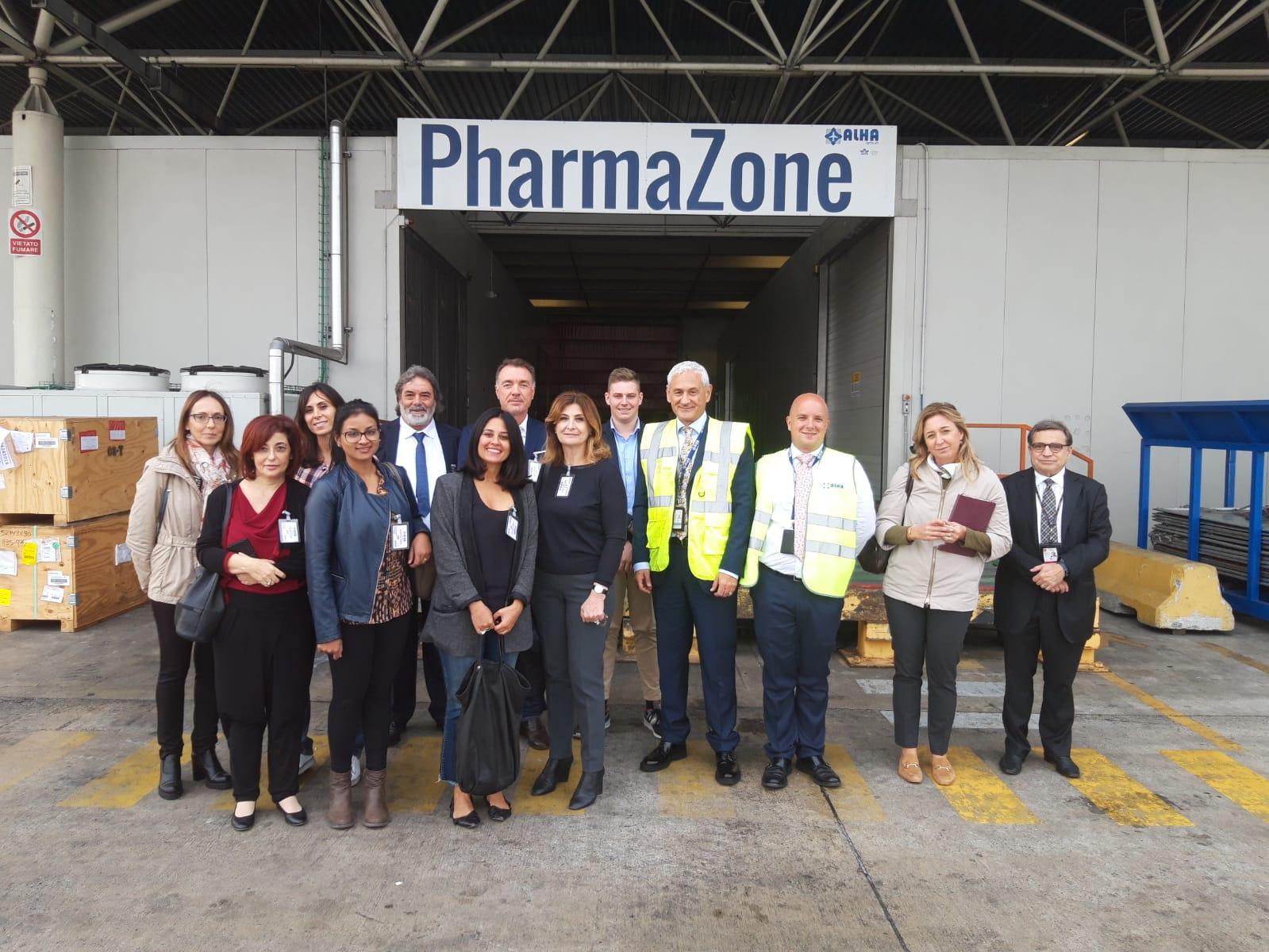 ANITA in visita alla Cargo City di Malpensa: le imprese di autotrasporto e logistica sempre piu' interessate al trasporto aereo di merci