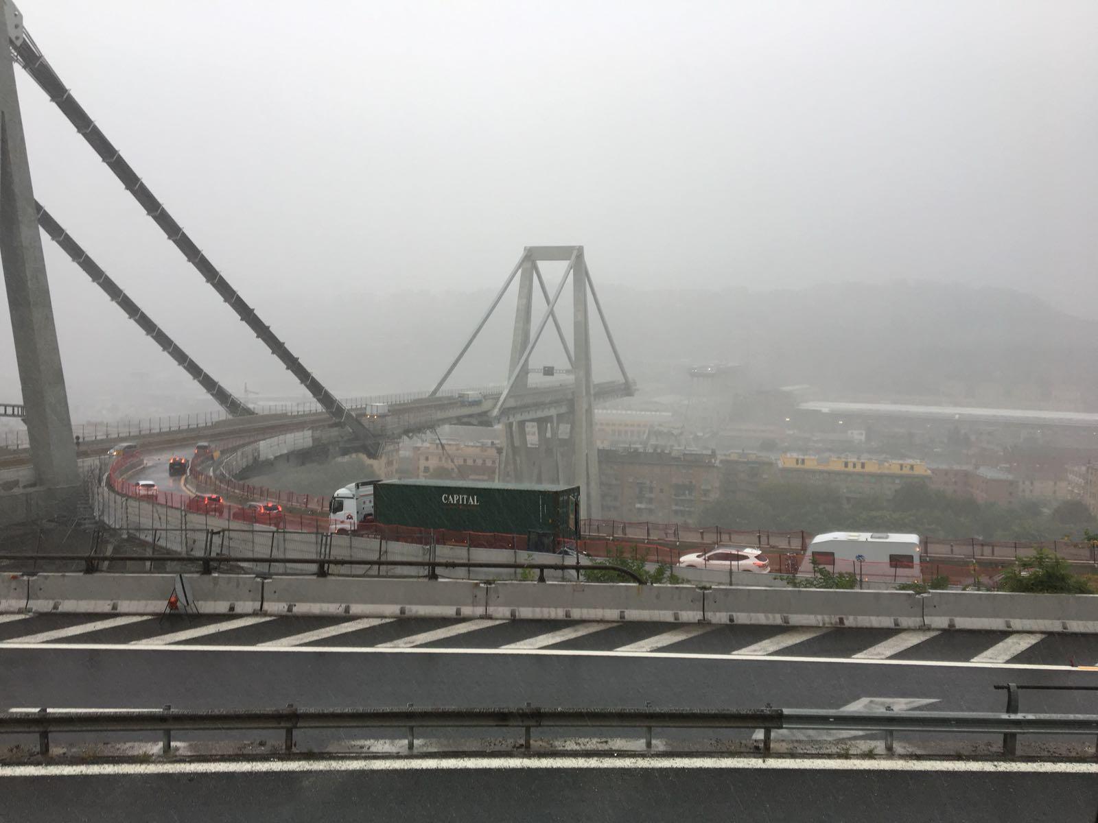 Crollo Viadotto Polcevera